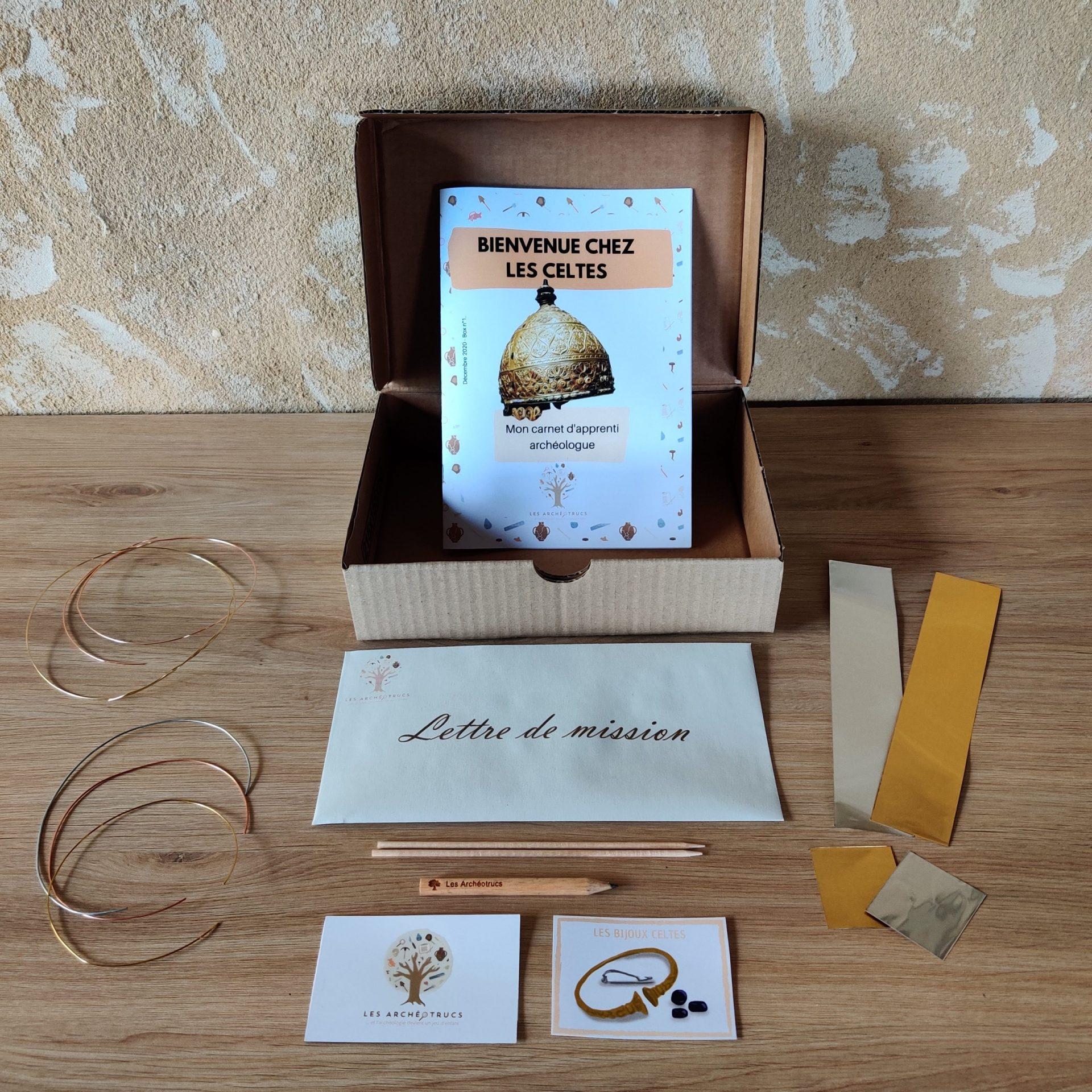 Box de Décembre : bienvenue chez les Celtes !