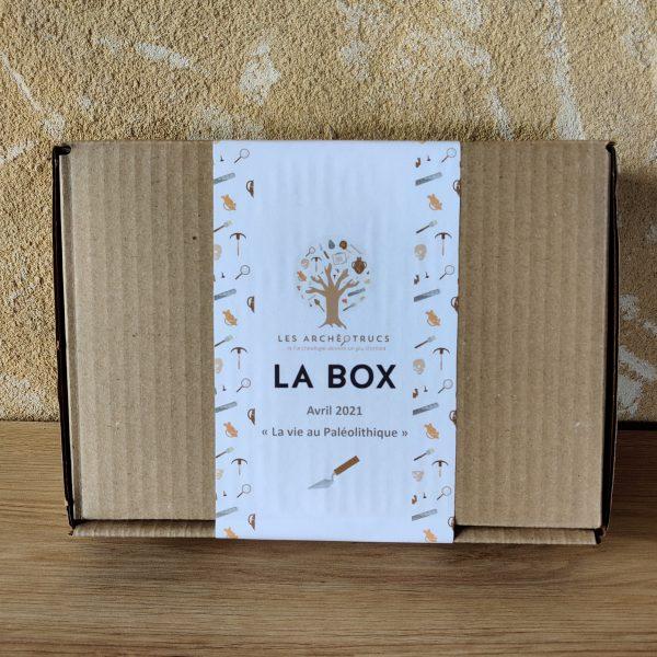 Box 3: La vie au Paléolithique